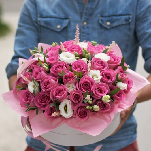 Цветочный торт от шеф-флориста: букеты цветов на заказ Flowwow