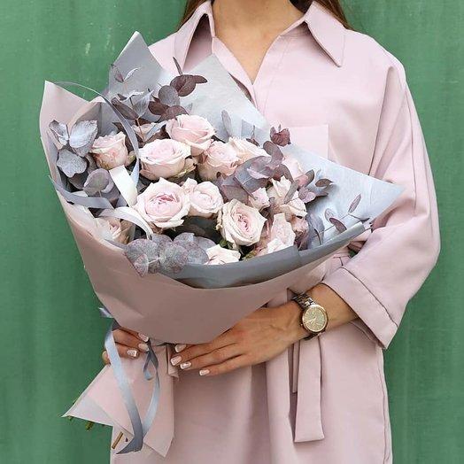 Изысканные розы: букеты цветов на заказ Flowwow