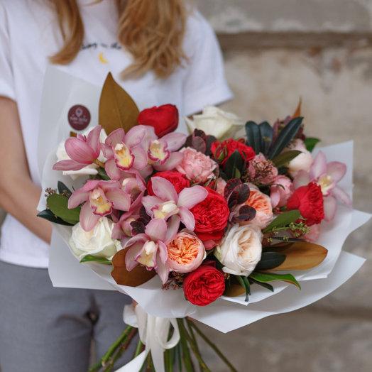 Букет любовь: букеты цветов на заказ Flowwow