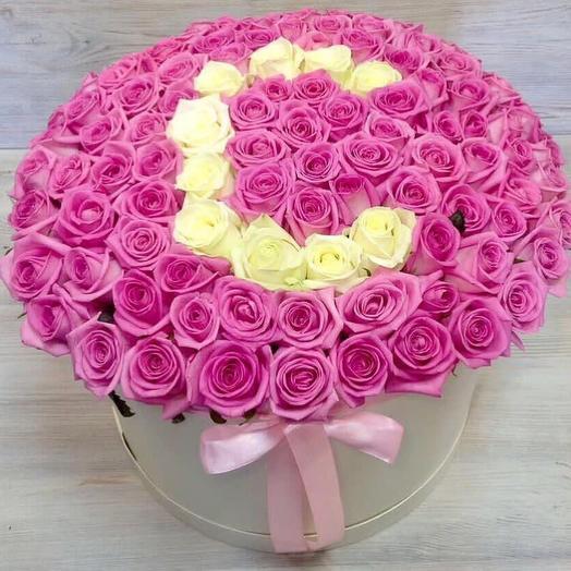 """Букет """"Full stop"""": букеты цветов на заказ Flowwow"""