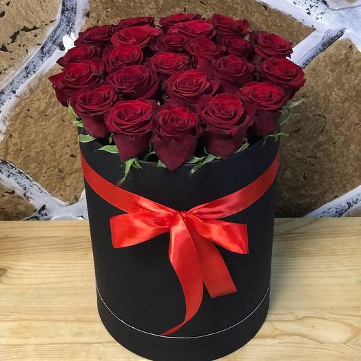 Чёрная любовь): букеты цветов на заказ Flowwow