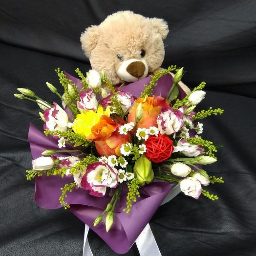 Комплимент для любимой: букеты цветов на заказ Flowwow