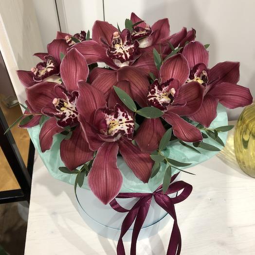 Шоколадные орхидеи: букеты цветов на заказ Flowwow