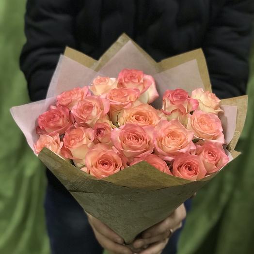 Букет из роз «Джумилия»: букеты цветов на заказ Flowwow