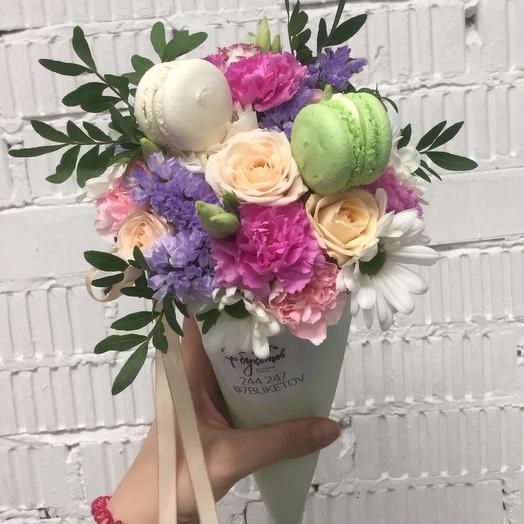 Цветочный рожок 2