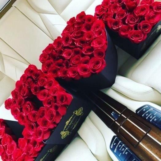 Букет роз With Love