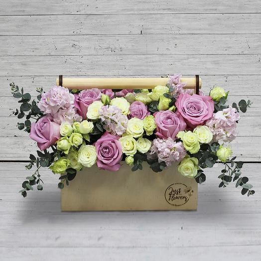 Бокс 28: букеты цветов на заказ Flowwow