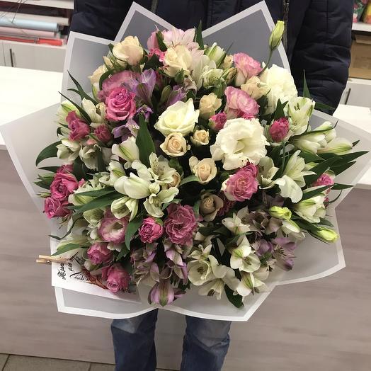 Сборный нежный микс: букеты цветов на заказ Flowwow
