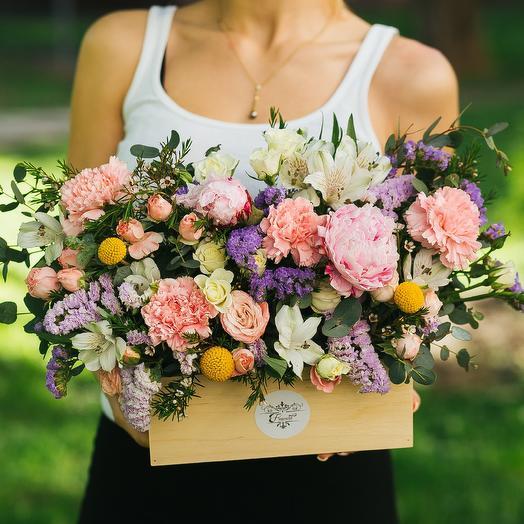 Цветочный каприз: букеты цветов на заказ Flowwow
