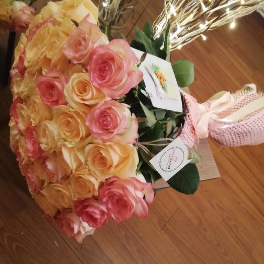 Красивый нежный букет: букеты цветов на заказ Flowwow