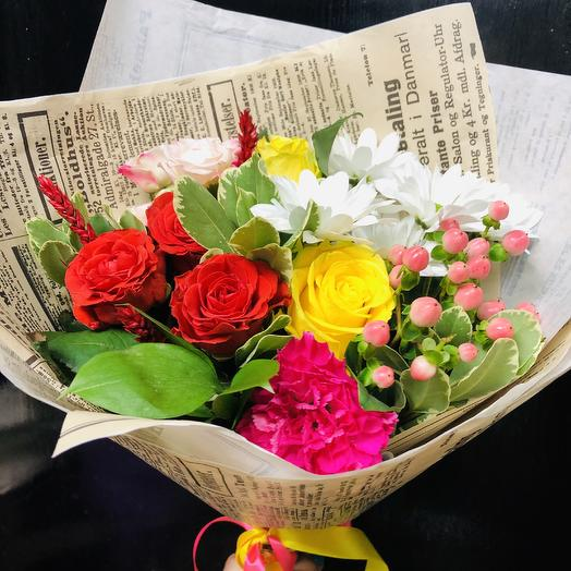 Букет «Миродаль»: букеты цветов на заказ Flowwow