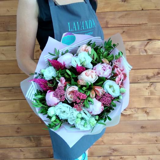 """Букет """"Pink sunset"""": букеты цветов на заказ Flowwow"""