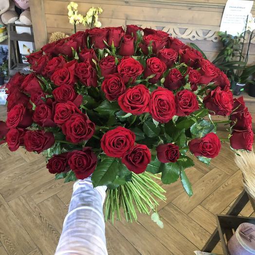 """Букет для жены """"Букет из 101 розы"""""""