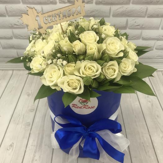 Букет школьника: букеты цветов на заказ Flowwow