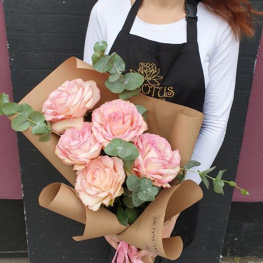 Не грусти: букеты цветов на заказ Flowwow