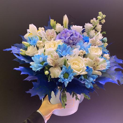 Цвет настроения синий: букеты цветов на заказ Flowwow