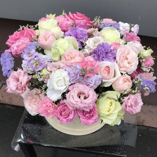 Коробка нежности ️: букеты цветов на заказ Flowwow