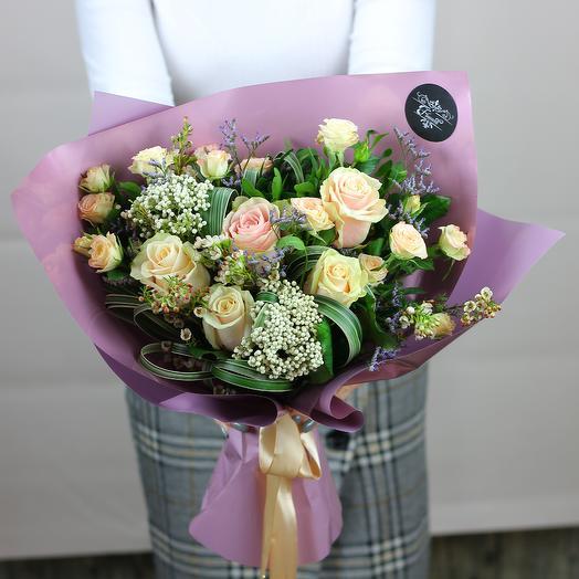 Благая весть: букеты цветов на заказ Flowwow