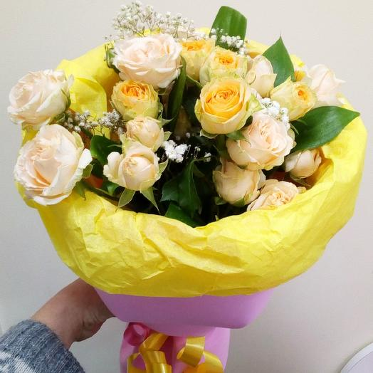 "Bouquet ""Marshmallow"": flowers to order Flowwow"