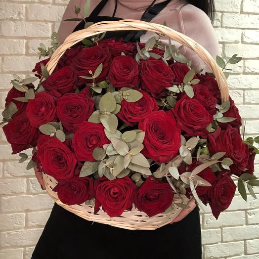 Classica of red: букеты цветов на заказ Flowwow