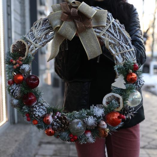 Christmas wreath: flowers to order Flowwow