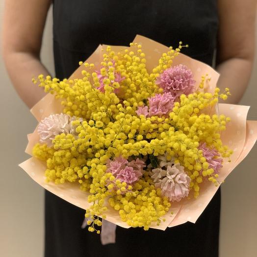 Букет «Поздравление»: букеты цветов на заказ Flowwow