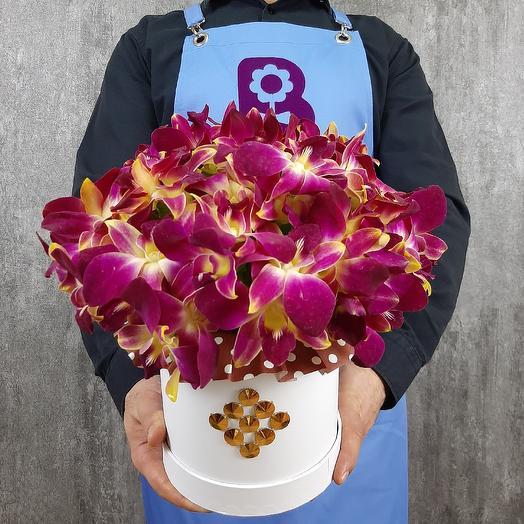 Горячий шоколад: букеты цветов на заказ Flowwow