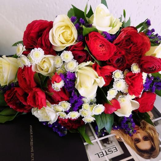 Букет Яркое наслаждение: букеты цветов на заказ Flowwow