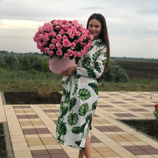 105 нежных роз