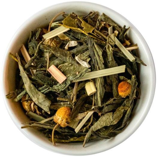 Зеленый чай с лемонграссом - Японский лимонник