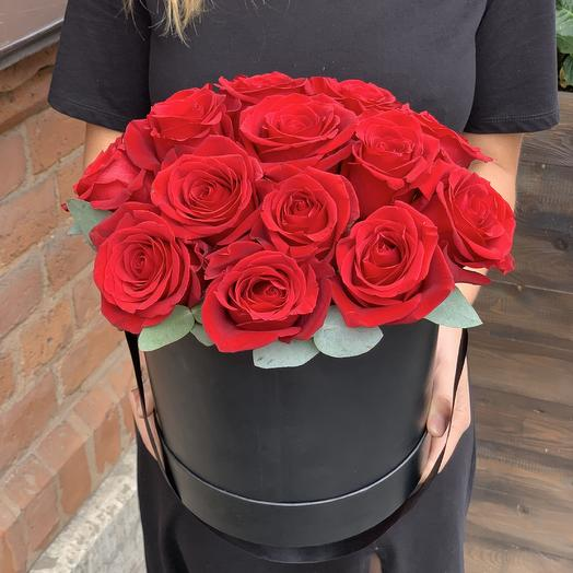Коробка Роза Эквадор