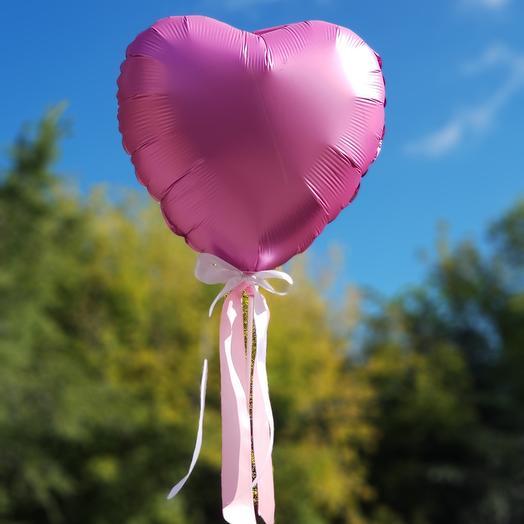 Воздушный шар Сердце А76