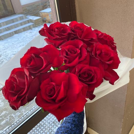 9 ажурных Роз