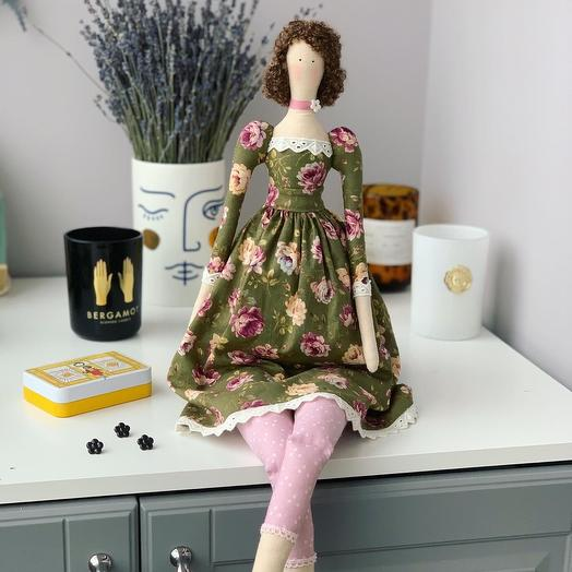 Интерьерная кукла Тильда - Колетт