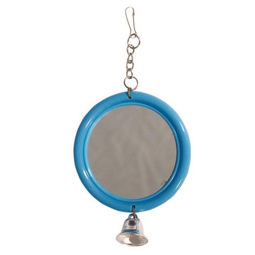 """Triol Игрушка для птиц """"Зеркало с колокольчиком"""" 120*d60мм"""