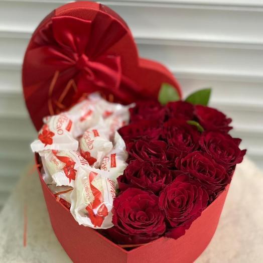 Розы Кения и рафаэлло