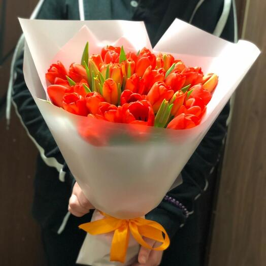 Букет Тюльпаны летние