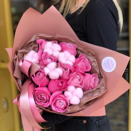 Розы для девушки