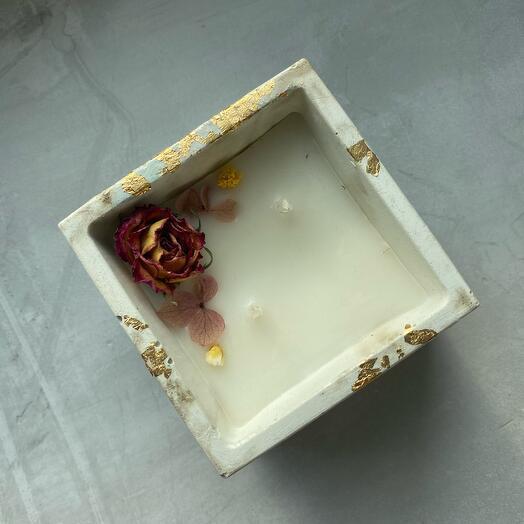 Ароматическая свеча с ароматом красная сангрия