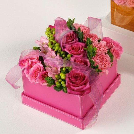 Коробочка 56: букеты цветов на заказ Flowwow