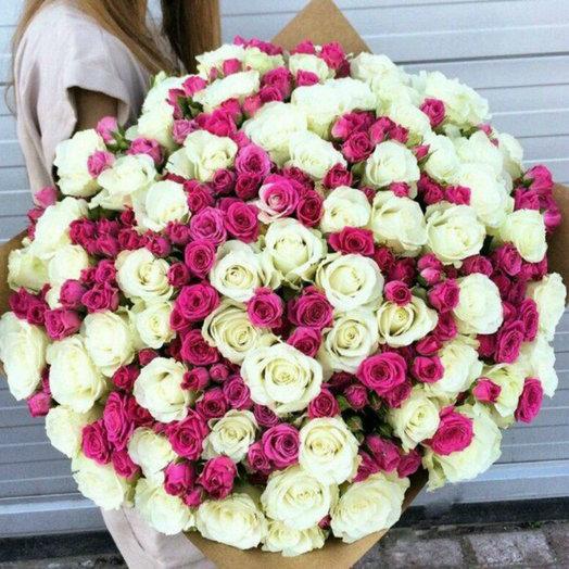 Восхитительный сюрприз: букеты цветов на заказ Flowwow