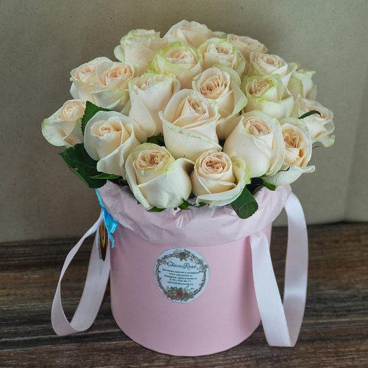 Розы в шляпной коробке 7