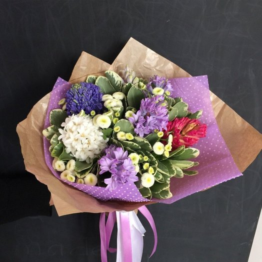 Весенний аромат: букеты цветов на заказ Flowwow