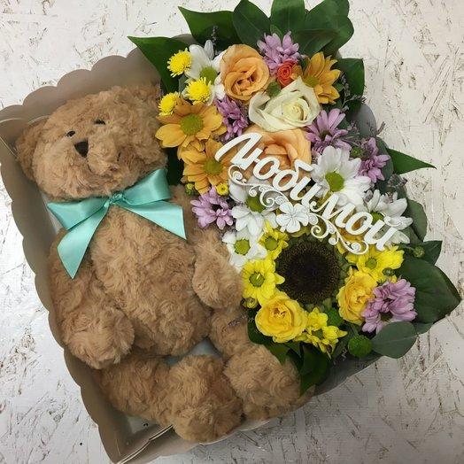 Подарок Любимой: букеты цветов на заказ Flowwow