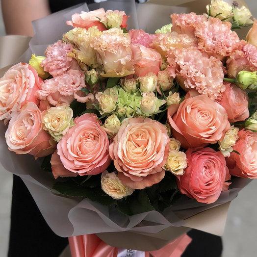 Апельсиновое настроение : букеты цветов на заказ Flowwow