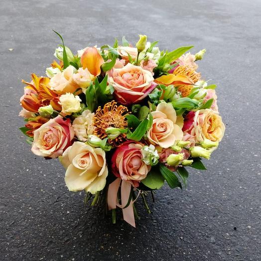 Вечер сентября: букеты цветов на заказ Flowwow