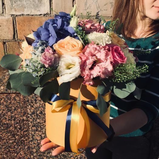 Композиция «Цветочный мусс»: букеты цветов на заказ Flowwow