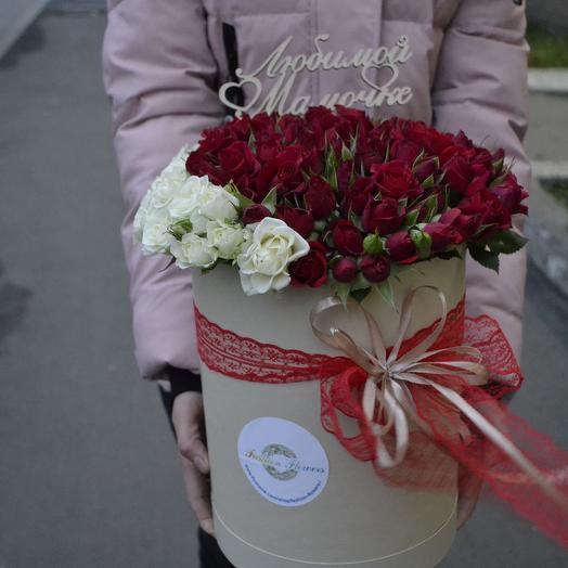 Рафия (Топпер в Подарок): букеты цветов на заказ Flowwow