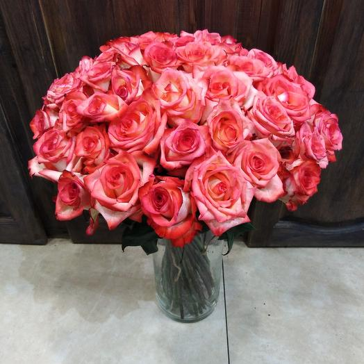 Букет роз 51 роза: букеты цветов на заказ Flowwow