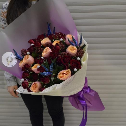 Эксклюзив Парижа 2: букеты цветов на заказ Flowwow